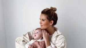 Christin Kaeber macht ihrem Baby emotionale Liebeserklärung