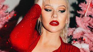 Nass und freizügig: Christina Aguilera rekelt sich im Pool