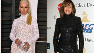 Christina Aguilera und Whitney Houston