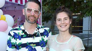Skurrile Feier: Amanda Knox hat ihre große Liebe geheiratet!
