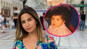 Lockenkopf! GZSZ-Star Chryssanthi Kavazi zeigt sich als Kind