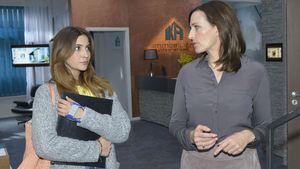 GZSZ-Stars Chryssanthi Kavazi und Ulrike Frank