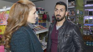 Emma Knapp (Claudia Lorentz) und Mesut Yildiz (Mustafa Alin)