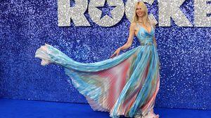 """Elfenhaft: Claudia Schiffer strahlt bei """"Rocketman""""-Premiere"""
