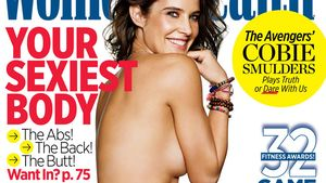 Oben ohne: Cobie Smulders zeigt sexy After-Baby-Body