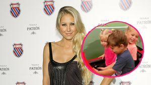 Fans sind begeistert: Anna Kournikova zeigt alle drei Kids