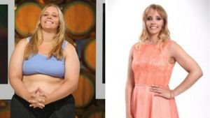 "Anna, Kandidatin der TV-Show ""The Biggest Loser"""