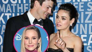 Mila Kunis: Ashton soll nach ihrem Tod Kristen Bell heiraten