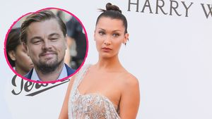 Collage: Bella Hadid und Leonardo DiCaprio