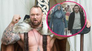 """""""Game of Thrones""""-Schauspieler Hafthor Julius Björnsson und Hannah Waddingham"""