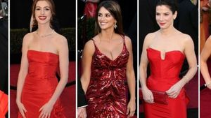 Oscars: Anne Hathaway & Co. sahen rot!