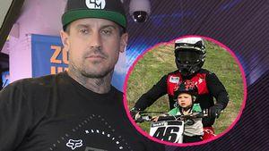 Motorrad-Tour mit Sohn (2): Pinks Ehemann erzürnt Follower