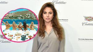 GNTM-Carina feiert mit ihren Freundinnen im Urlaub oben ohne