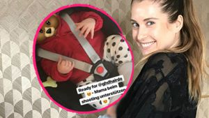 """""""Partner in Crime"""": Mama Cathy Hummels mit Ludwig am Set!"""