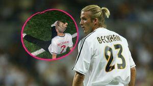 Trikot-Pic: Romeo Beckham sieht aus wie sein Papa David!