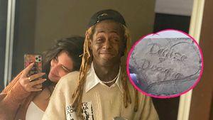 Herz in Sand: Lil Wayne und Denise wieder total verliebt