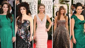Mila Kunis, Angelina Jolie, Olivia Wilde, Helena Bonham Carter und Maria Menounos