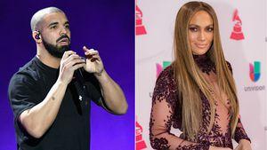 Musiker Drake und Jennifer Lopez