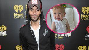 Schon sieben Monate! So goldig ist Enrique Iglesias' Tochter