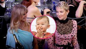 Stolze Omi: So gratuliert Kate Hudsons Mom der kleinen Rani!