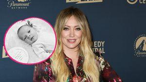 """""""Ich bin da!"""": Hilary Duff stellt süßes Töchterchen Mae vor"""