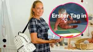 "Erster Kitatag: So groß ist Ex-""Köln 50667""-Iris' Sohn schon"