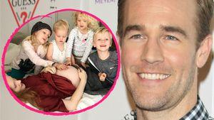 Fünffaches Baby-Glück: James van der Beek wird wieder Vater!