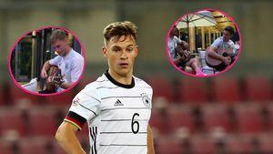 Vor EM-Spiel gegen Ungarn: Joshua Kimmich und Co. musizieren