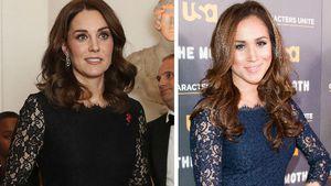 Kleider-Klau: Herzogin Kate trägt Meghan Markles Hass-Dress