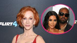 Bestätigt Kathy Griffin Scheidungsgerüchte über Kim & Kanye?