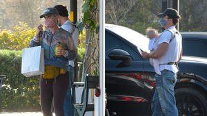 Gesichtet: Katy und Orlando beim Einkaufen mit Baby Daisy!