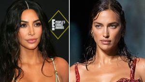 So sehr ähneln sich Kim Kardashian und Irina Shayks Styles