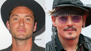 Jude Law und Johnny Depp