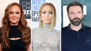 Auf Leah Reminis Party: J.Lo & Ben Affleck im Fotoautomat