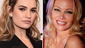 Twins: Hier verwandelt sich Lily James in Pamela Anderson!