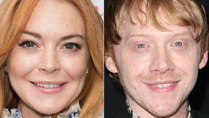 Lindsay Lohan und Rupert Grint