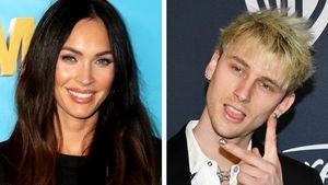 Nach Kneipenabend: Megan Fox von Machine Gun Kelly getragen