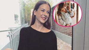 Ex-Bachelor-Kandidatin Nadine Illa zeigt ihren Babybauch