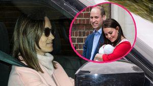 Von Schwester Pippa: Kate und ihr Baby-Boy bekommen Besuch!