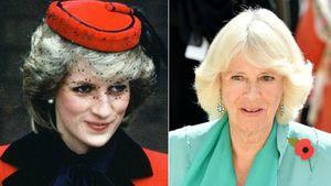 Prinzessin Diana und Herzogin Camilla