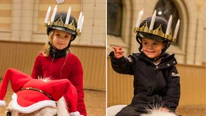 Luciafest: So süß feierten Prinzessin Estelle & Prinz Oscar