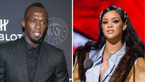 Collage Rihanna und Usain Bolt