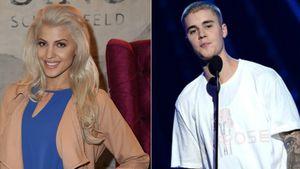 Sarah Nowak und Justin Bieber