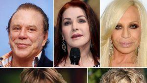 Mickey Rourke, Meg Ryan, Lisa Rinna, Donatella Versace und Priscilla Presley
