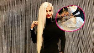 Wegen OP: Sophia Vegas' Extensions im Liegen gewechselt!