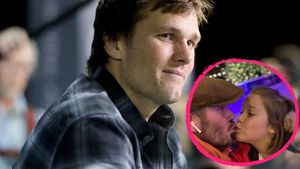 Dad-Support: Tom Brady feiert David Beckhams Harper-Küsschen