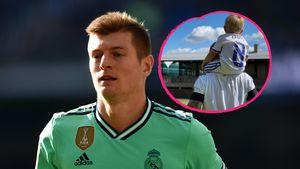 Mini-Kroos: Kicker Toni teilt seltenes Foto mit seinem Sohn