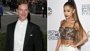 Benedict Cumberbatch und Ariana Grande