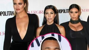 "Kardashian-Schwestern und Rapper ""The Game"""