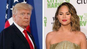 """""""Niemand mag dich"""": Trump blockt Chrissy Teigen auf Twitter"""